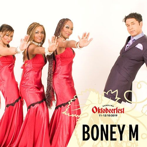 BONEY M – ORIGINAL MEMBER MAIZIE WILLIAMS